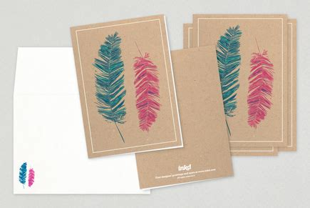 general cards template colored feathers general greeting card template inkd