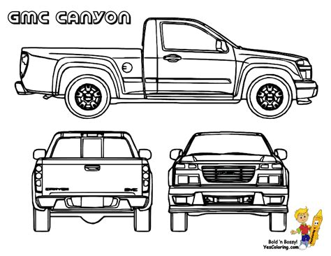 coloring pages gmc truck free coloring pages of chevy s10