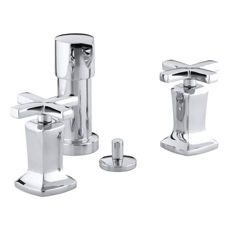 bidet lowes shop kohler margaux polished chrome vertical spray bidet