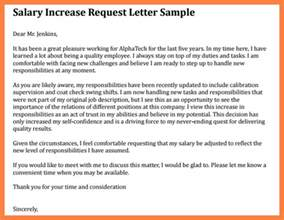 7 salary raise request letter salary slip