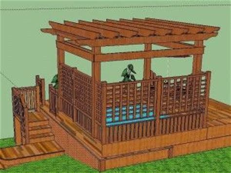 tubs gazebo ps wood arbor tub deck pergolas and tubs on