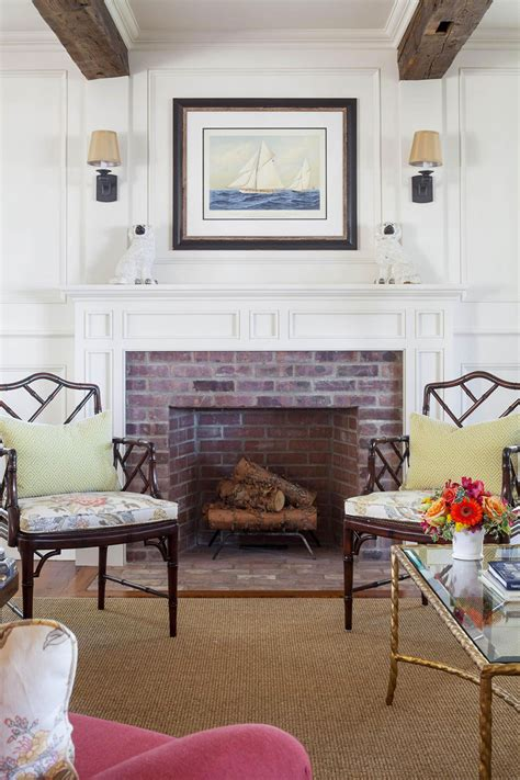 Colonial Fireplace by Colonial Style House Exuding Calmness By Ahearn