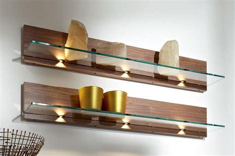 Decorative floating glass shelves floating glass shelves dynamic design for a rack home
