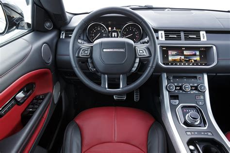 Range Rover Evoque Interior Images by Land Rover Range Rover Evoque Review And Rating Motor Trend
