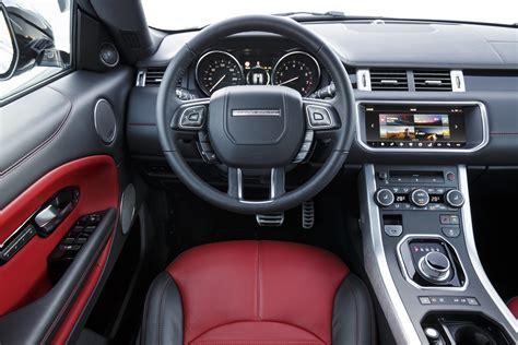 Range Rover Evoque Interior by 2017 Land Rover Range Rover Evoque Convertible Drive