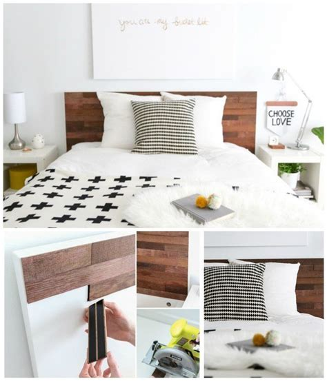 Stikwood Headboard by 35 Ways To Transform Your Furniture Diy Ready