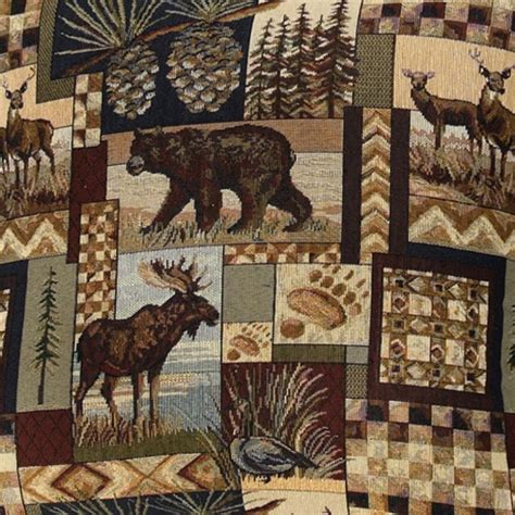 home decor upholstery fabric regal fabrics peters cabin peter s cabin rustic fabric collection