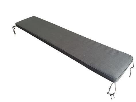 grey bench cushion florence bench cushion grey charcoal