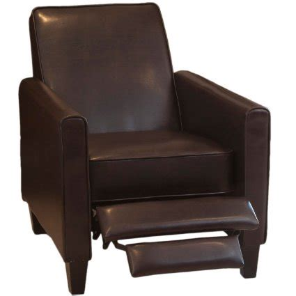 leather recliner chairs reviews lucas brown leather recliner club chair review best