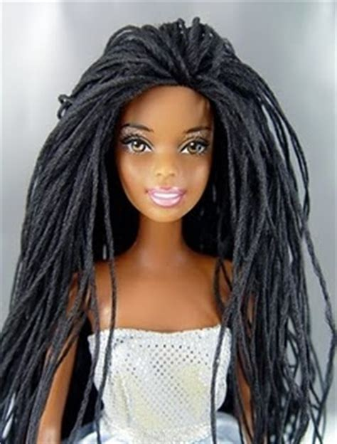 black doll with dreads with dreads hair inspiration