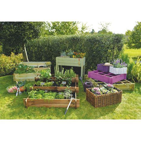 Carre Bois Pour Jardin by Bac Pour Potager En Carr 233 Fashion Designs