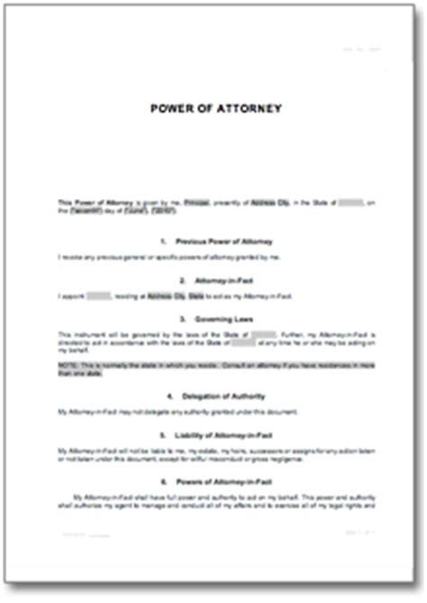 Specific Power Of Attorney De Templates Download Power Of Attorney Template Doc