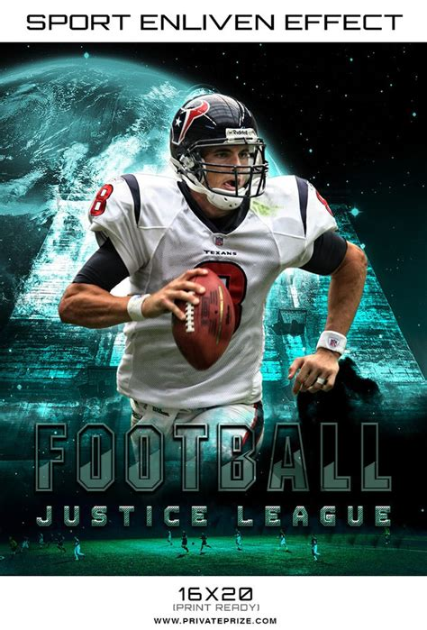 Football Justice League 2017 Themed Sports Template Sports Template