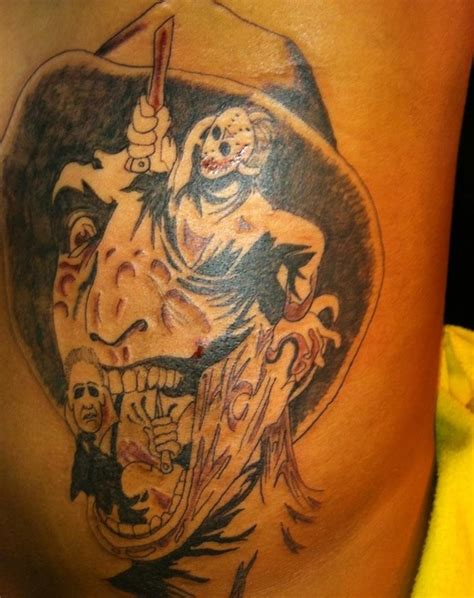 michael myers tattoo designs freddy michael myers and jason tattoos