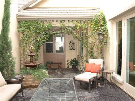 home courtyards beautiful interior homes small houses with interior