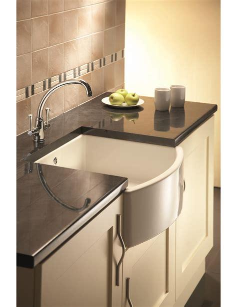 Belfast Sink In Modern Kitchen by Shaws Waterside Belfast Kitchen Sink Apron Front White