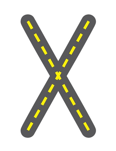 printable highway letters 17 best images about letters on pinterest the alphabet