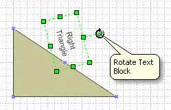 rotate in visio changing the position of a shape s text microsoft office