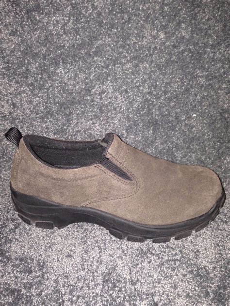 lands end shoes mens suede lands end shoes size 7m no slip soles well made