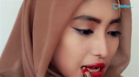 tutorial lipstik gradasi tutorial make up hijab formal lipstick blush on