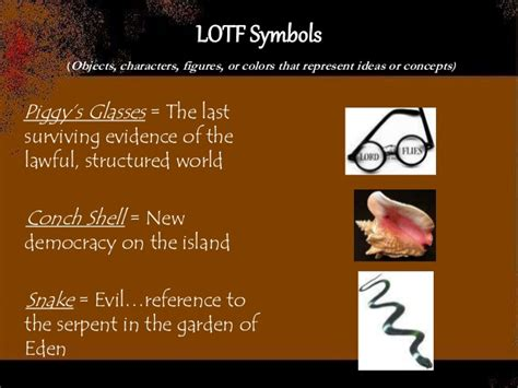 symbols in lord of the flies chapter 4 lotf test review