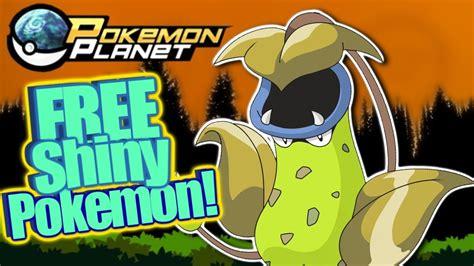 Free Shiny Pokemon Giveaway - pokemon planet free shiny pokemon giveaway august 2017 youtube