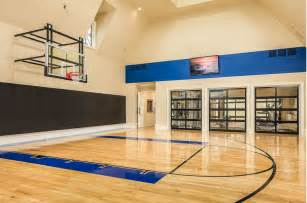 home basketball court indoor basketball courts homes of the rich