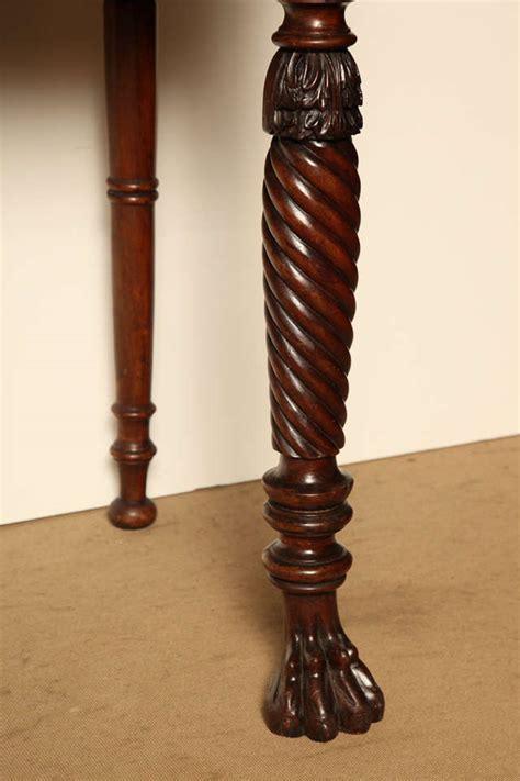 irish regency mahogany serving tablepossibly cork