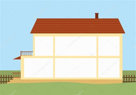 house with rooms house with empty rooms stock vector 169 elvetica 56924625