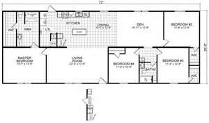 Redman Manufactured Homes Floor Plans by 2000 Redman Mobile Home Floor Plans House Design Plans