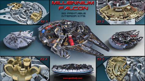 interior layout of millennium falcon pics for gt millenium falcon interior layout