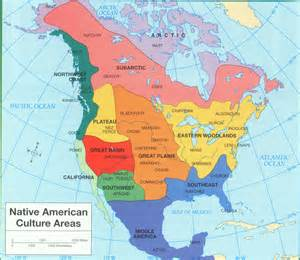 american areas map american culture areas ya yanative