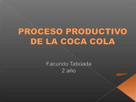 libro la cola de la proceso productivo coca cola