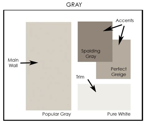 gray color palette with sherwin williams paint by a clore interiors www acloreinteriors