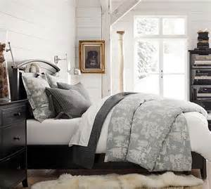 pottery barn coverlet frosted forest duvet cover sham pottery barn