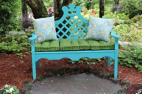 coloured garden benches ideas for garden benches hgtv