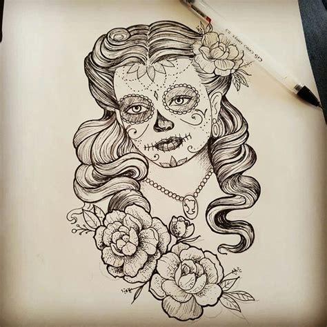 17 mejores ideas sobre tatuagem catrina en pinterest