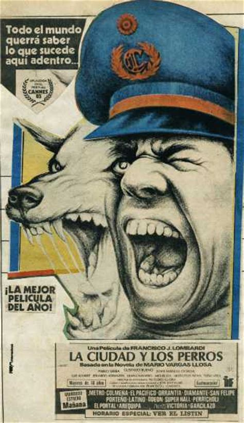 la ciudad y los mario vargas llosa first written novel 1963 la ciudad y los perros peruvian film 1985 listen