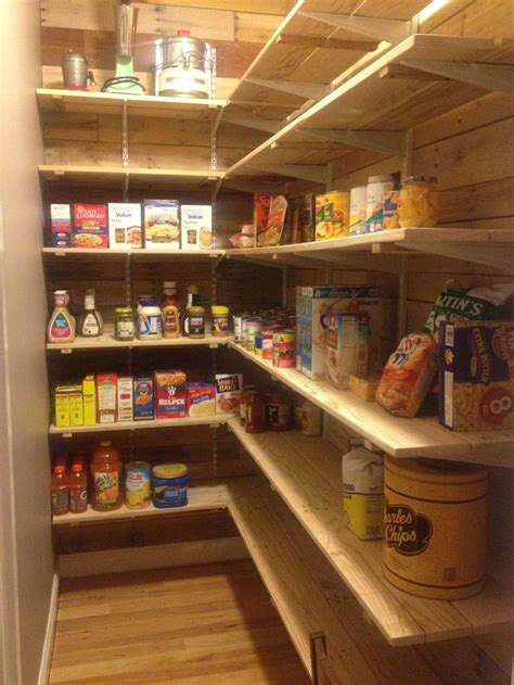 Garage Shelving From Pallets Pallet Pantry Built By Larter Projects At Home