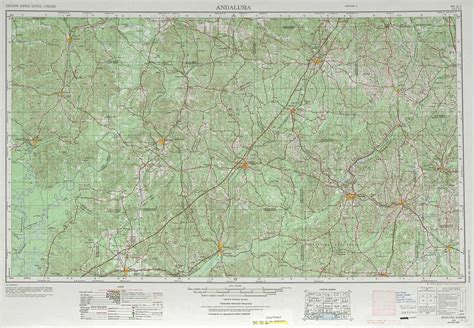 topographic maps of andalusia topographic maps al usgs topo 31086a1 at