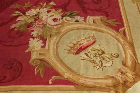 tappeti aubusson francesi tappeto aubusson tappeti antiquariato dimanoinmano it