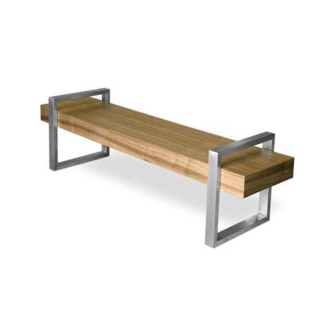 return bench return bench oak black gus modern touch of modern