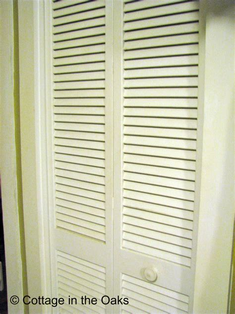 Painting Louvered Closet Doors Louver Doors Be Cottage In The Oaks