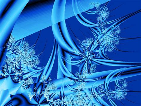 icy blue an icy blue fractal free stock photo public domain pictures