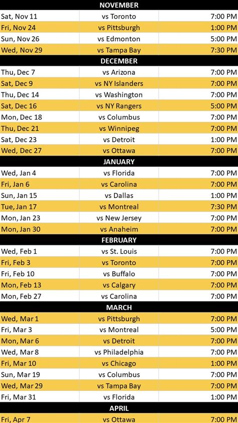 printable bruins schedule boston bruins home game schedule the boxer boston hotel