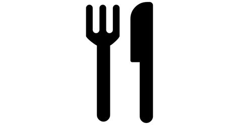 Design A Home Free App by Restaurant Interface Symbol Of Fork And Knife Couple