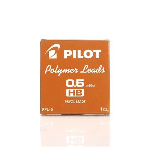 Pen Paper Pilot Pencil Lead Polymer 2b 0 5 Mm 12 Leads 1 pilot polymer lead 10 lot mechanical pencil refills