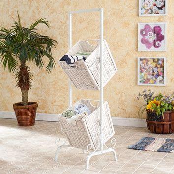 basket storage bathroom