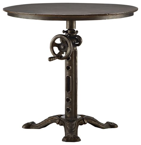 kendall crank end table traditional side tables and