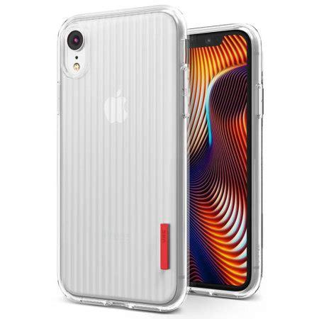 vrs design crystal fit iphone xr case clear